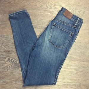 Madewell 10'' High Rise Skinny Jeans - Size 27